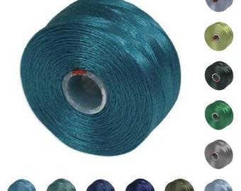 S-lon Beading Thread Color Mixture 41979 (12 bobbins) Size D Superlon Tex 45 Assortment, S-Lon Mixture, Size D Thread, Thread Mixture