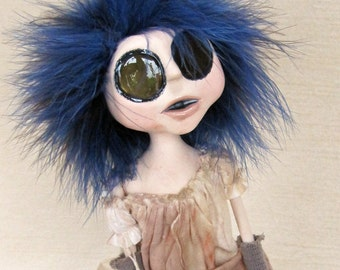 Anxiety - Asylum Gothic Art Doll