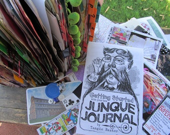 SALE! LAST BATCH!***Junque Journal Starter Kit as seen on YouTube by tangiebaxter
