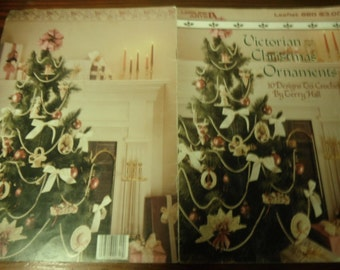 Thread Christmas Crochet Patterns Victorian Christmas Ornaments Leisure Arts 620 Terry Hall Crochet Pattern Leaflet