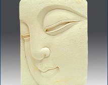 2D Silicone Soap Mold - Buddha Close-up - FREE SHIPPING -Buy from Original Designer - Say no to copy cats