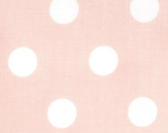 Dottie Polka Dots fabric   Baby Pink 45008 20   Cotton Quilting fabric