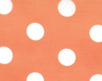 Dottie Polka Dots | Tangerine Polkadots fabric 45008 28 | Moda