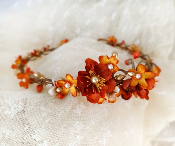 RESERVED for Laz: autumn circlet