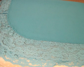 Square Robins Egg Blue Table Cloth