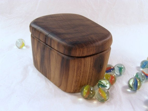 Myrtlewood Box, Oregon Coast, wooden box, engagement ring box, ring box, jewelry box, gift for groom gift for bride, best man gift