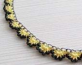 Beaded Crochet Chain Necklace Tutorial Pattern