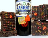 Absinthe, Anise & Wormwood Soap Handcrafted sheep's milk confetti cold process soap