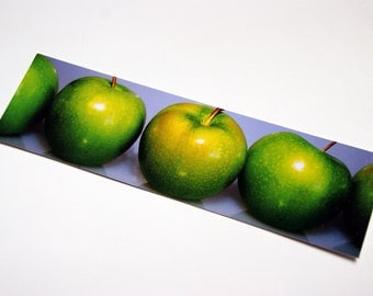 SALE - Apples in a row Photo Bookmark