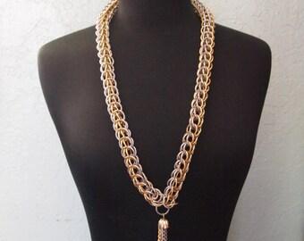 Vintage 60s Tassel Necklace