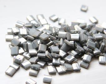 10 Grams Japanese Miyuki Tila Beads-Flat Square 5x5x1.9mm (TL1865)
