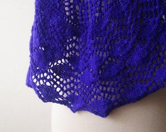 Knitting Pattern PDF / Thistle and Nettle Shawl
