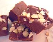 Julie's Fudge - AMARETTO & KONA COFFEE - Half Pound