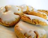 The Ultimate Iced Molasses Cookies - The Little Ones - TWO DOZEN (24 cookies)