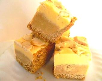 Julie's Fudge - ELVIS PIE w/Graham Cracker Crust - Over Half Pound