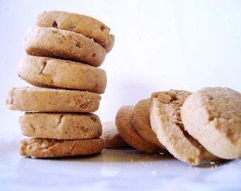 Great Grandma's Icebox Cookies - with PECAN pieces - THREE DOZEN (36 cookies)