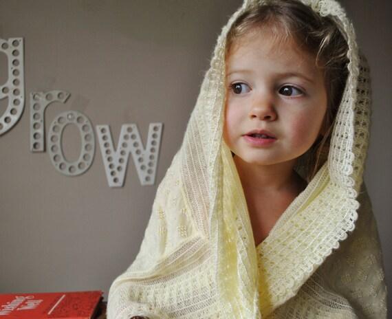 1950s Lightweight Crocheted blanket