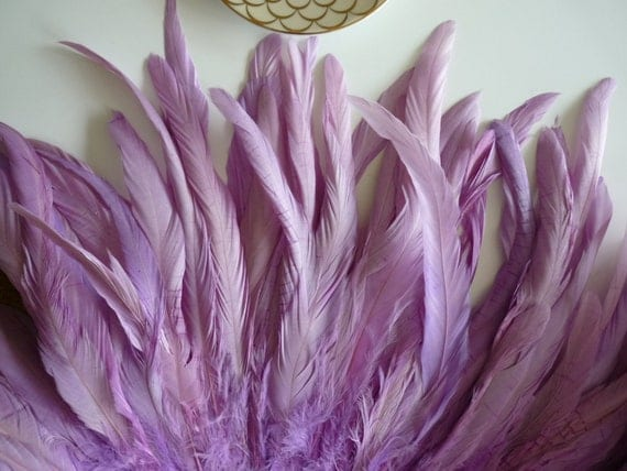 COQUE Tail Feathers,  Loose / Wisteria Purple /  157