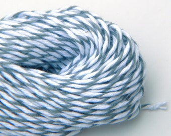 Gray Baker's Twine , 25 yards or 75 feet, Oyster Divine Twine
