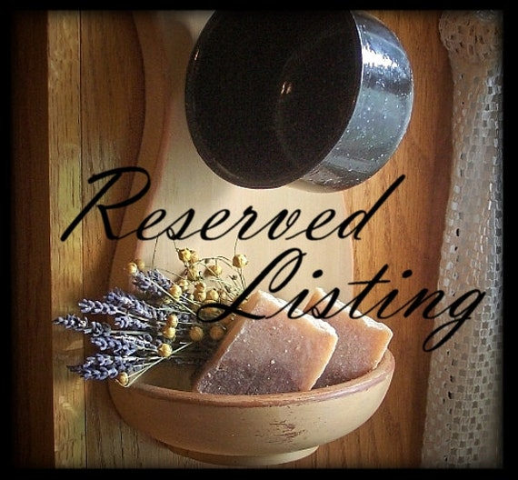 Reserved for Kelly / Primitive Colonial Candle Board / Barn Red over Black / 5 Candles included