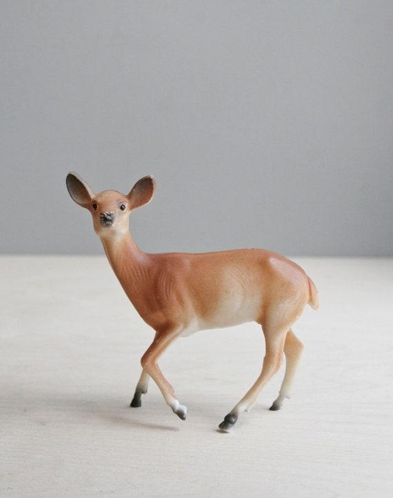 vintage celluloid deer figure
