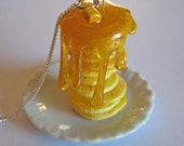 Stack o' Pancakes Necklace - Mini Food Jewelry