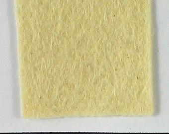 Straw 12x18 Wool Felt Sheet