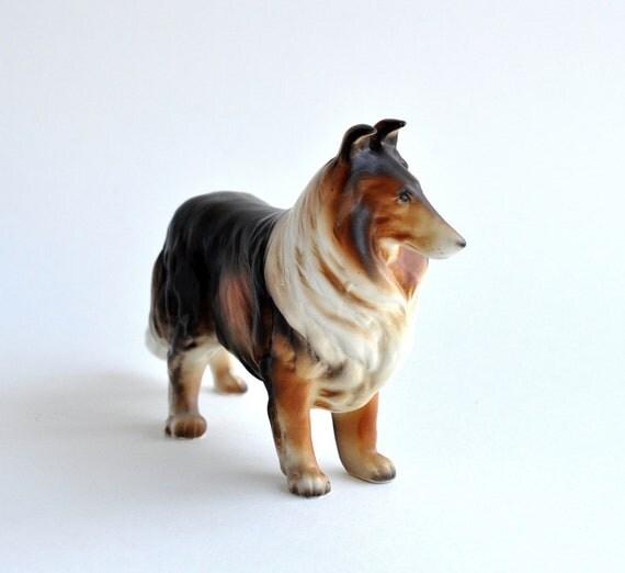 Vintage Collie-Lassie-1960s-70s-Scarce
