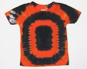 Tie Dye TShirt, Oregon State Beavers Football T-Shirt Size 6 months (ready to ship)