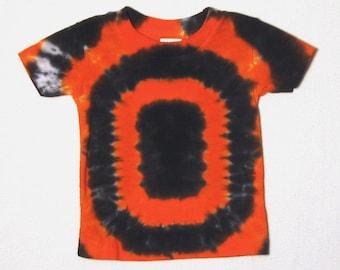 Tie Dye TShirt, Oregon State Beavers Football T-Shirt Size 6 months (ready to ship)