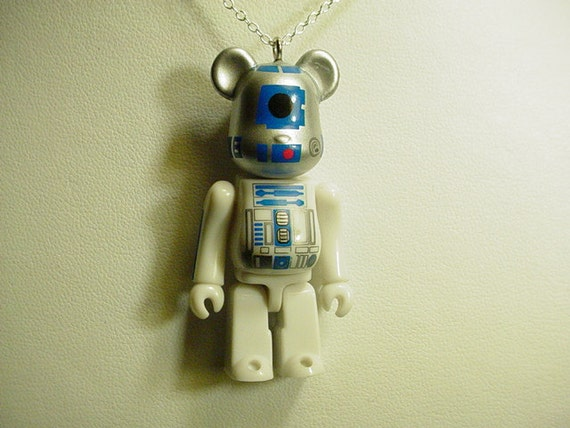 BearBrick R2-D2 Necklace