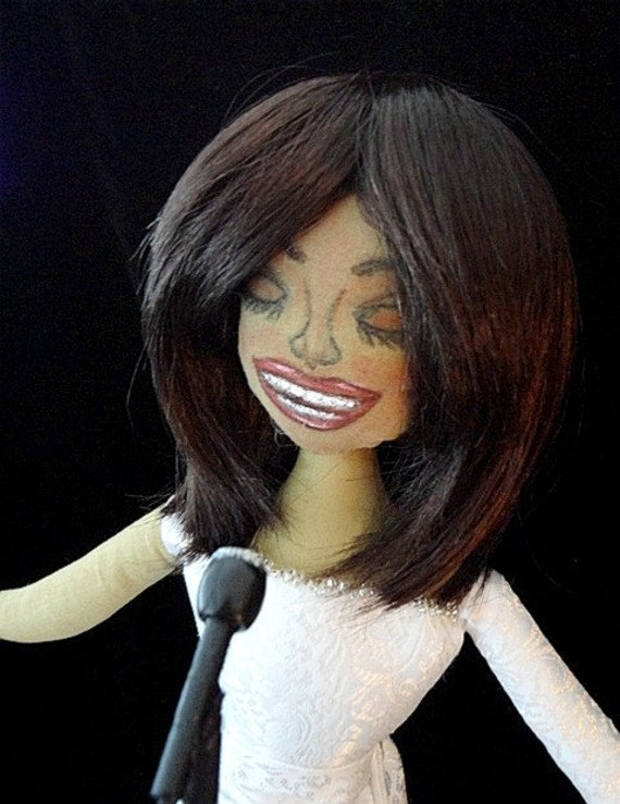 Whitney Houston Spirit Doll-OOAK Art Doll