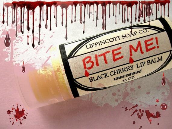 Black Cherry Lip Balm - Vampire Lip Balm