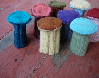 Custom Chair Socks - Pure Wool - Floor Protectors
