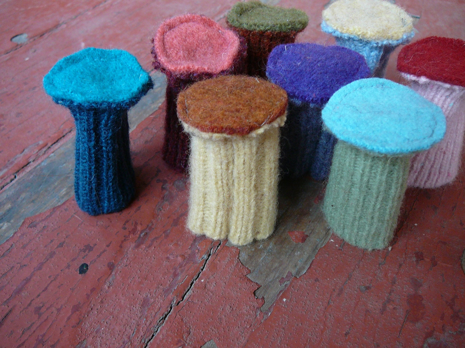 Custom Chair Socks Pure Wool Floor Protectors
