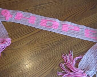 Breast Cancer Hope Scarf