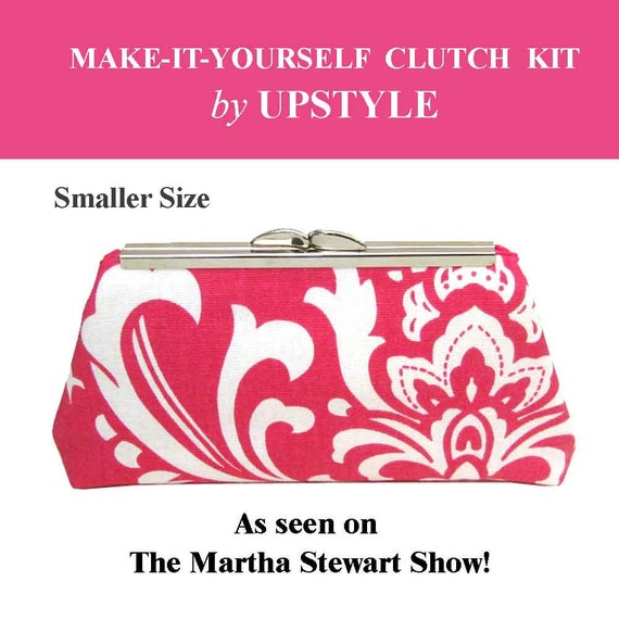 New SMALLER SIZE - Make it Yourself Clutch Purse Kit - As Seen on The Martha Stewart Show