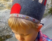 Crown, Dress up for boys, Medieval Castle, Knight, princes and lords, Waldorf Inspired, imaginative play