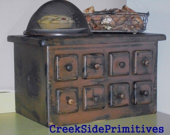 Primitive Wood Toaster  Cover