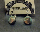 Grain elevator dropped stud earrings
