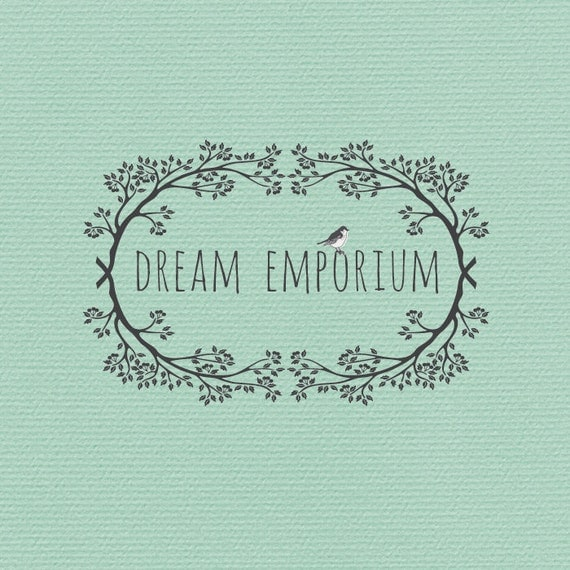 Pre-made Logo or Watermark  Design - Dream Emporium - RESERVED for Taylor