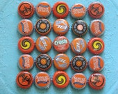 orange crush - bottle cap trivet