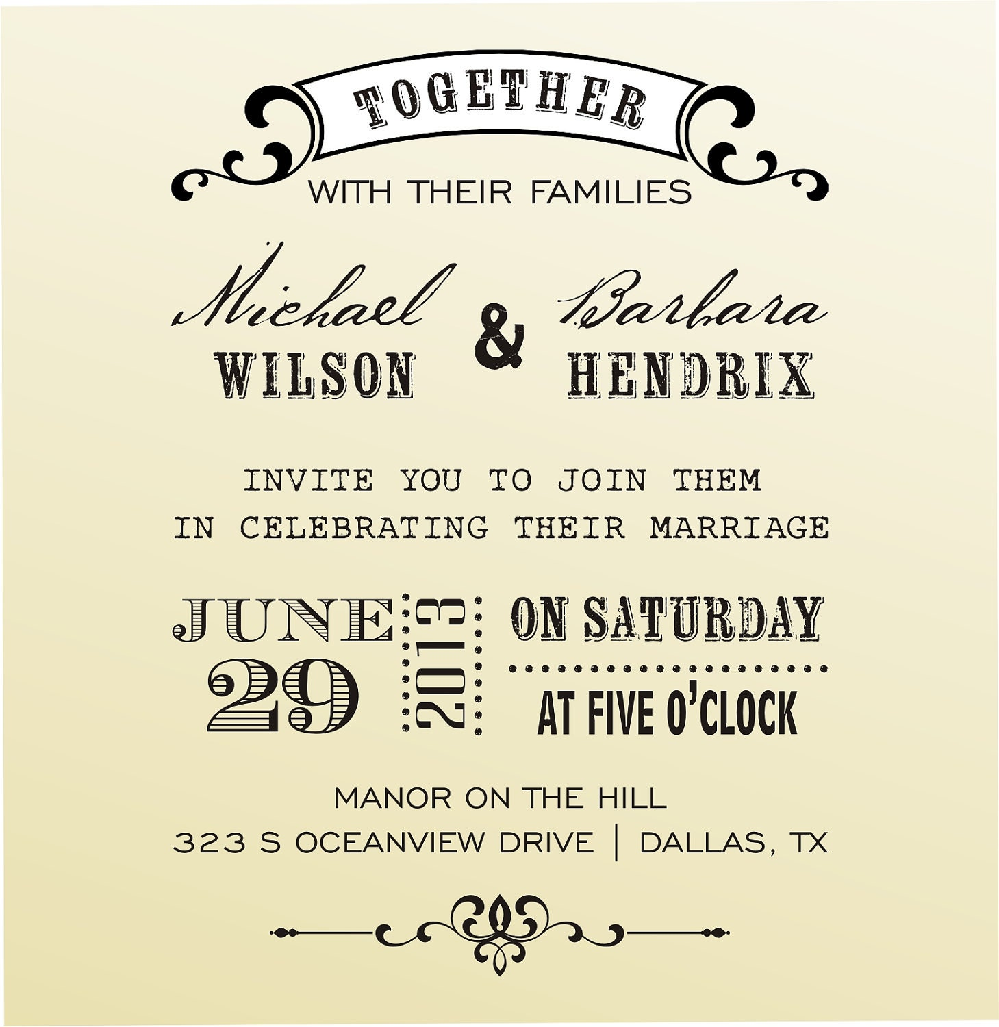 Font For Wedding Invitations - Home Design Ideas