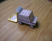 Postal Mail Truck 100 Stamp Roll Container
