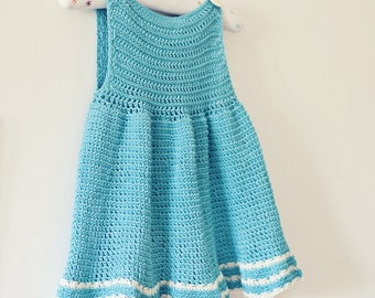 Crochet PATTERN - A-line Dress (can be made in any size)