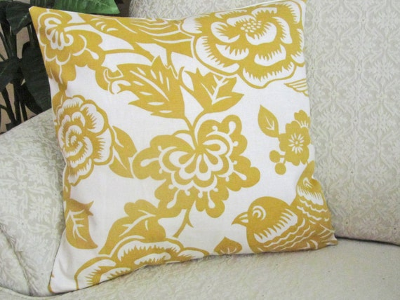 Yellow Couch Pillows Covers