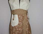 SALE Halter Apron SALE 50% off with coupon code