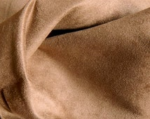 SOFT Washable Microfiber Ultrasuede Fabric MOCHA BROWN Slipcovers Upholstery