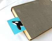 Whale Bookmarks - Eco-friendly Set of 5