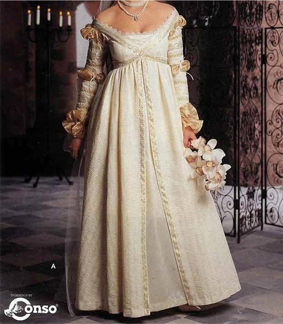 Renaissance Festival Wedding Dresses: Simplicity The Ever After Dress Pattern Renaissance Wedding